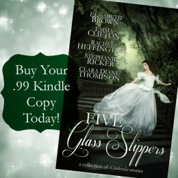 FIVE GLASS SLIPPERS PurchaseButtonKindle