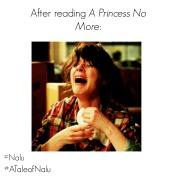 a princess no more