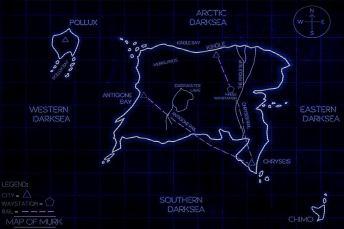 flickering lights map