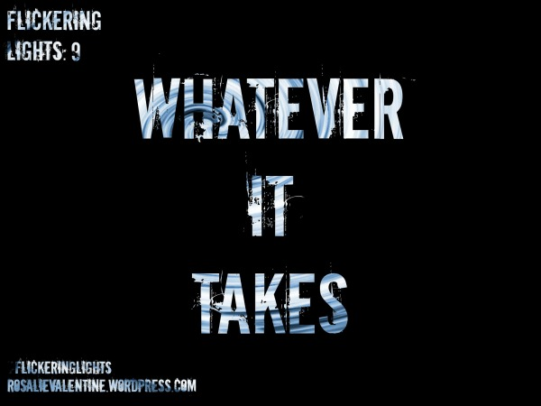 Whatever it takes title image