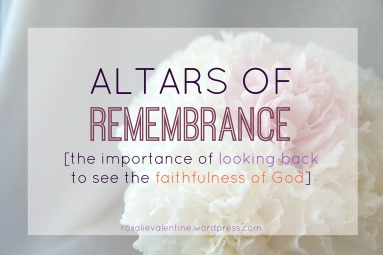 altars of remembrance