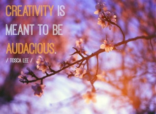 creativity audacious