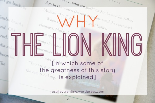 why the lion king